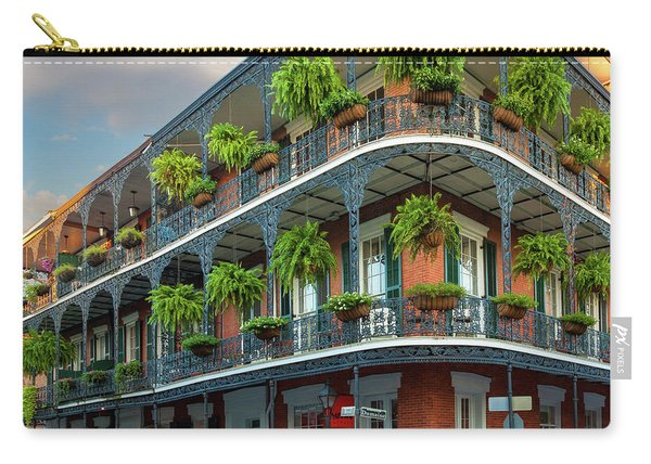 New Orleans House Carry-all Pouch