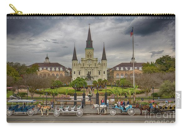 New Orleans Jackson Square Carry-all Pouch