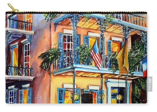 New Orleans' La Fitte's Guest House Carry-all Pouch