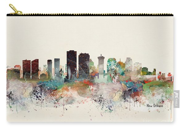 New Orleans Louisiana Carry-all Pouch
