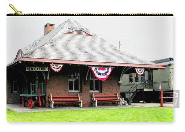 New Oxford Pennsylvania Train Station Carry-all Pouch