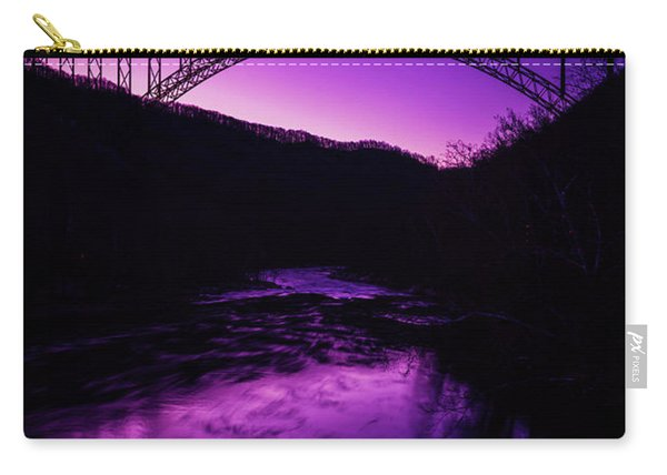 New River Gorge Bridge Afterglow Carry-all Pouch