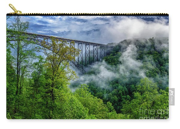 New River Gorge Bridge Morning  Carry-all Pouch