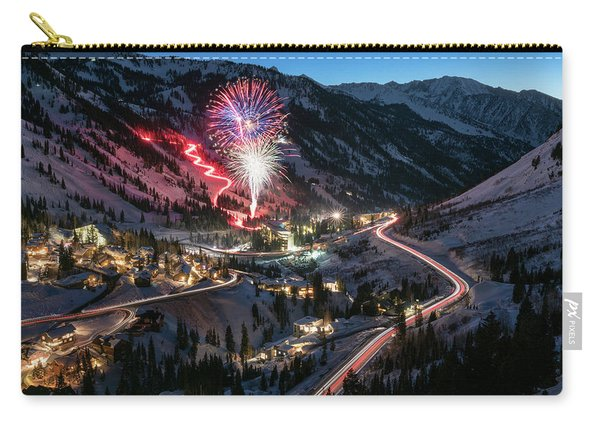 New Year's Eve At Snowbird Carry-all Pouch