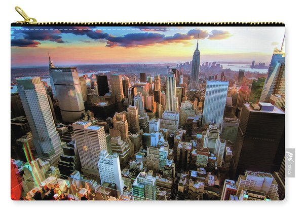 New York City Downtown Manhattan Carry-all Pouch
