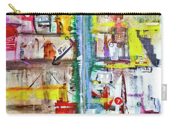 New York City Icons And Symbols Carry-all Pouch