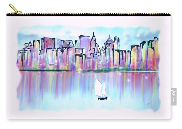 New York City Scape Carry-all Pouch