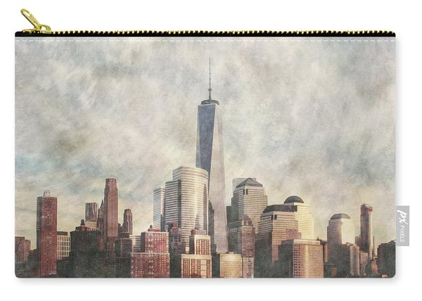 New York City Skyline Including The World Trade Centre Carry-all Pouch