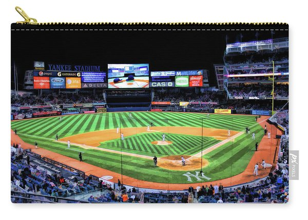 New York City Yankee Stadium Carry-all Pouch