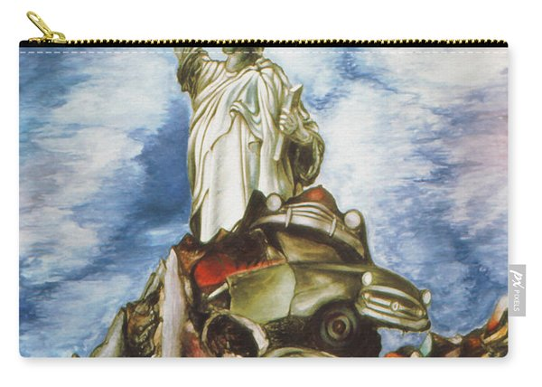 New York Liberty 77 - Fantasy Art Painting Carry-all Pouch