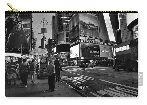Carry-all Pouch featuring the photograph New York, New York 1 by Ron Cline