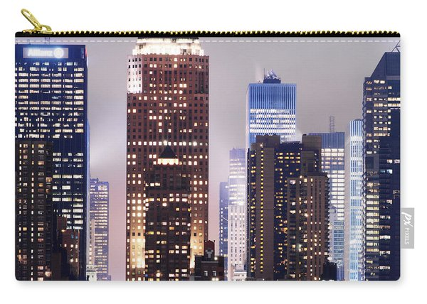 New York Skyscrapers Carry-all Pouch