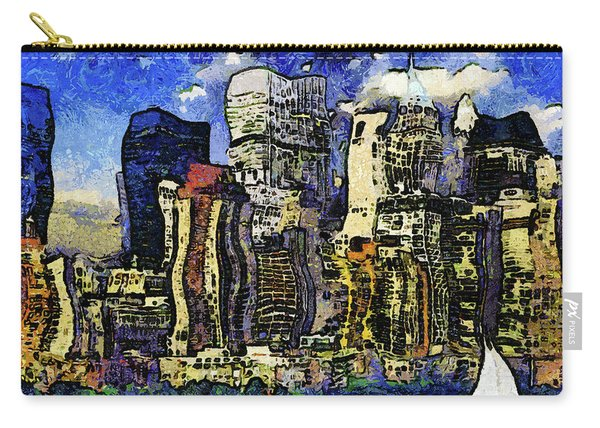 New York Stary Night Expressionism Carry-all Pouch