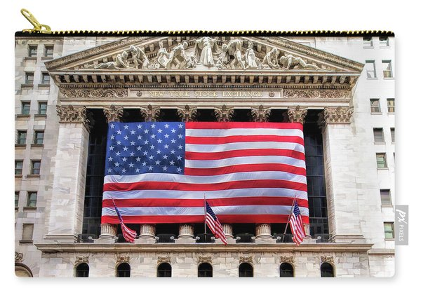 New York Stock Exchange Flag Carry-all Pouch