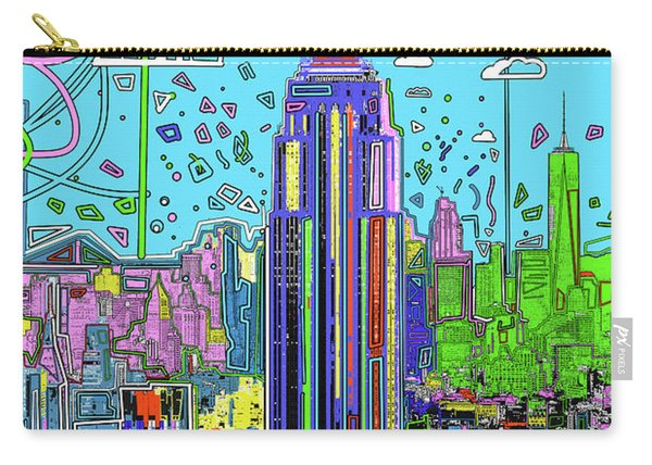New York Urban Colors Carry-all Pouch