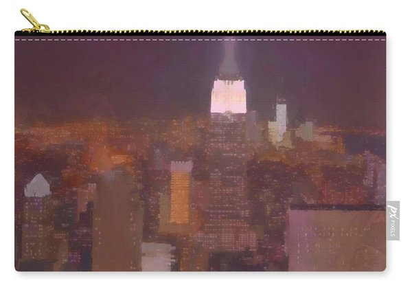 New York View Top Of The Rock  Carry-all Pouch