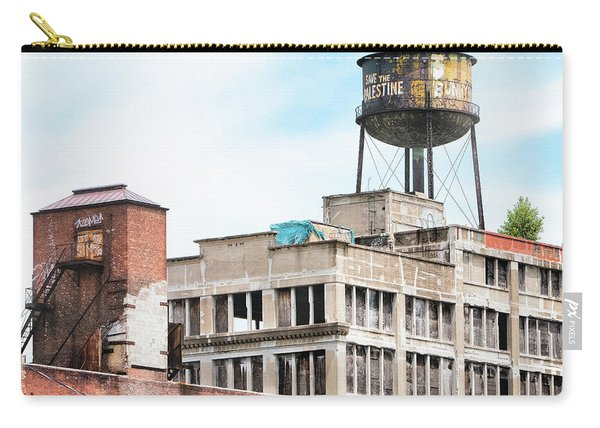 New York Water Towers 18 - Greenpoint Water Tower Carry-all Pouch