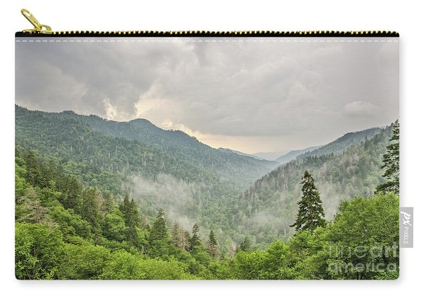 Newfound Gap In Great Smoky Mountains National Park Carry-all Pouch