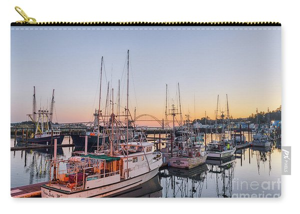 Newport Harbor At Dusk Carry-all Pouch