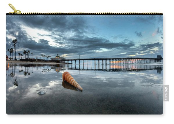 Newport Pier Seashell Carry-all Pouch