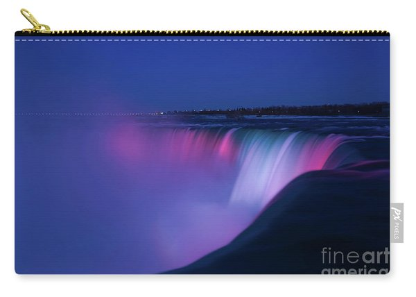Niagara Falls Red White And Blue Carry-all Pouch