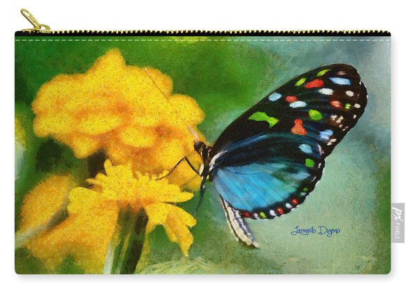 Nice Butterfly - Da Carry-all Pouch
