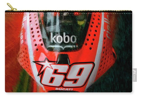Nicky Hayden's Motogp Ducati Carry-all Pouch
