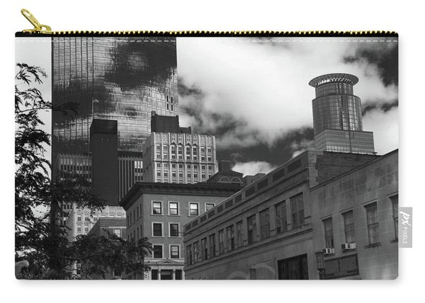 Nicollet Mall Minneapolis Black White Carry-all Pouch