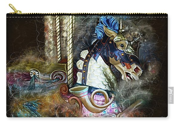 Night At The Carousel Carry-all Pouch