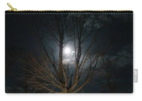 Night At The Graveyard Carry-all Pouch