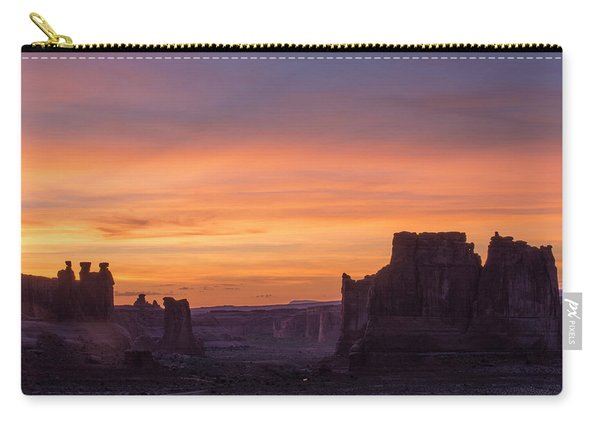 Night Falls Gently Carry-all Pouch