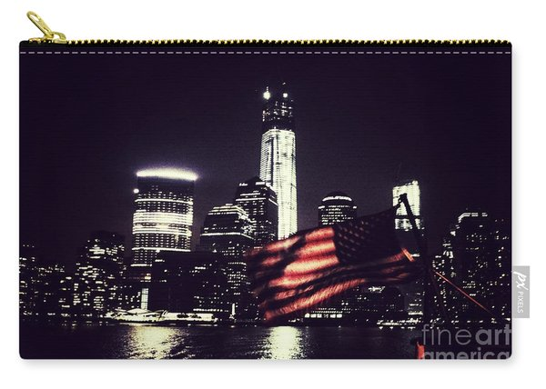 Night Flag Carry-all Pouch