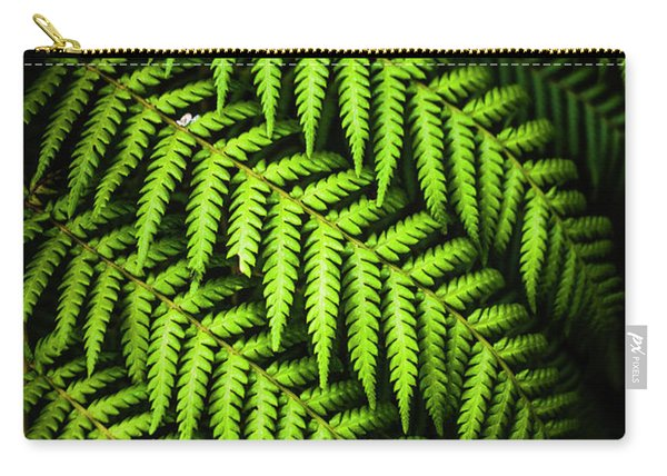 Night Forest Frond Carry-all Pouch