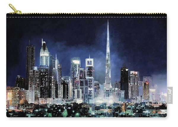 night in Dubai City Carry-all Pouch