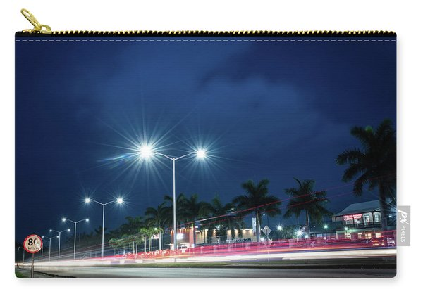 Night Lights In Montego Bay City Carry-all Pouch