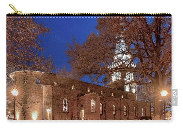 Night Lights St Anne's In The Circle Carry-all Pouch
