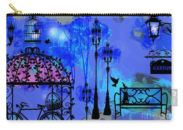 Night Love Garden  Carry-all Pouch