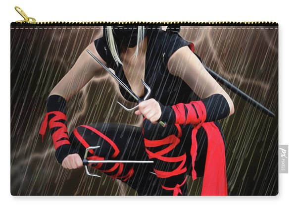Night Of The Ninja Carry-all Pouch