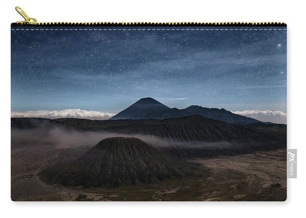 Night Over Mount Bromo - Java Carry-all Pouch
