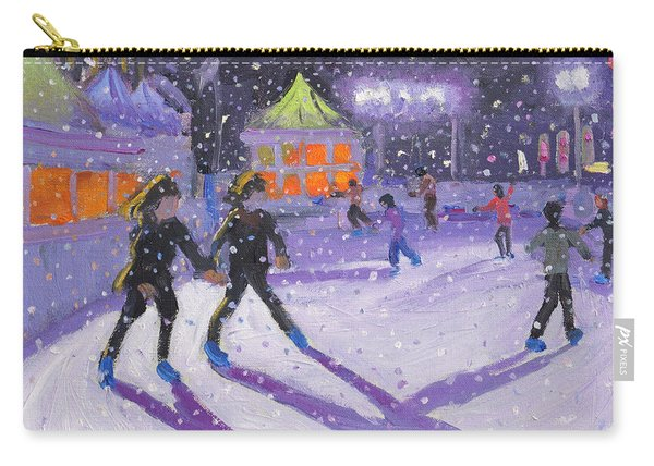 Night Skaters Carry-all Pouch