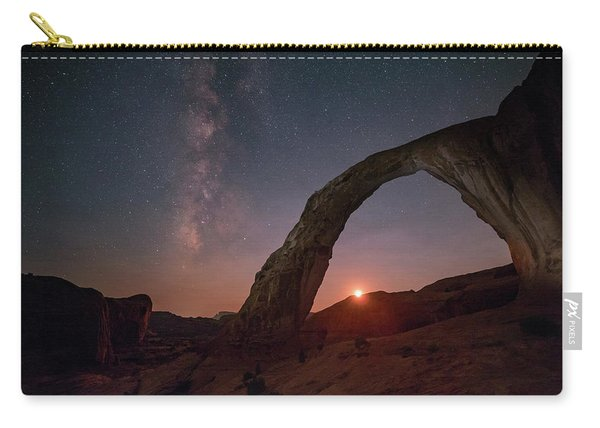 Night Sky At Corona Ach Carry-all Pouch