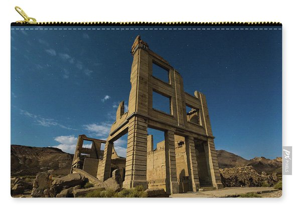 Night Sky Over Rhyolite Carry-all Pouch
