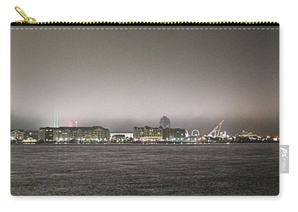 Night View Ocean City Downtown Skyline Carry-all Pouch