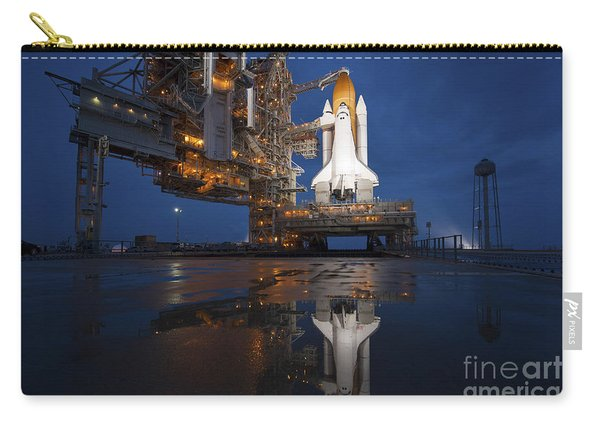 Night View Of Space Shuttle Atlantis Carry-all Pouch