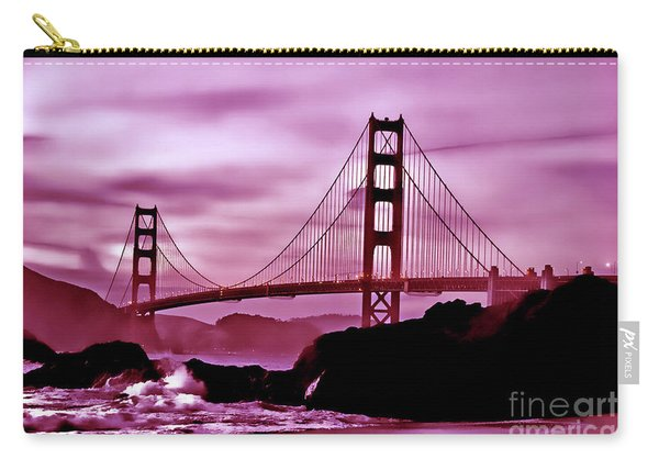 Nightfall At The Golden Gate Carry-all Pouch