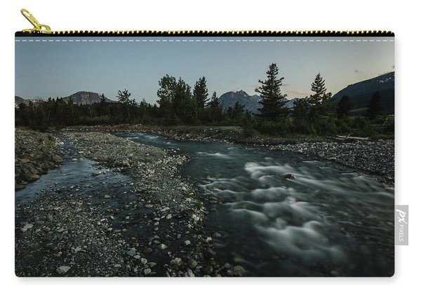 Nightfall In Montana Carry-all Pouch