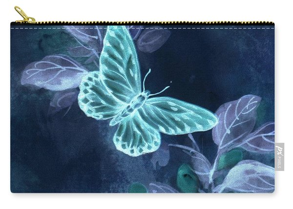 Nightglow Butterfly Carry-all Pouch