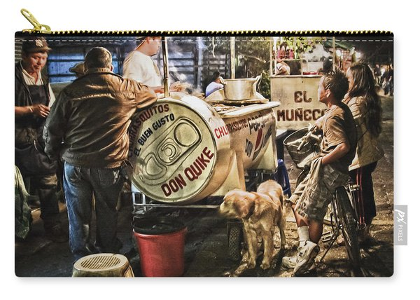 Nightlife In Guatemala Carry-all Pouch