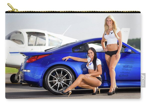 Nissan And Girl 1920x1200 006 Carry-all Pouch