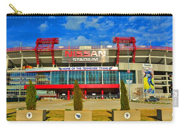 Nissan Stadium Home Of The Tennessee Titans Carry-all Pouch